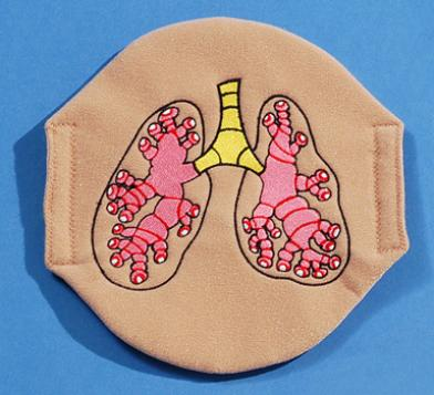Asthma Lung Overlay