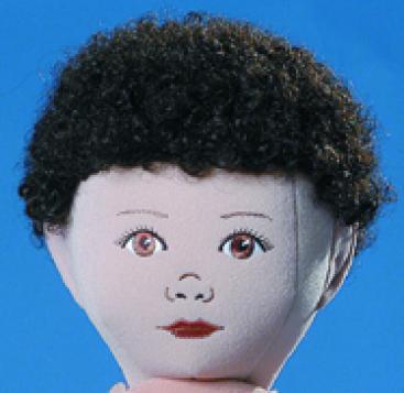 Dark Brown Curly Wig