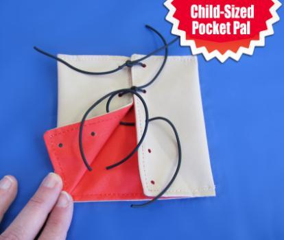 Child-sized Suture PlayKin Pocket Pal